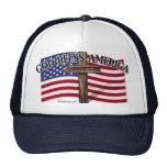 Dios bendice América Gorro De Camionero