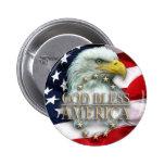 Dios bendice América Pins