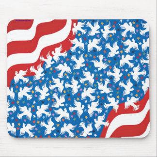 Dios bendice América por Metin Alfombrilla De Ratones