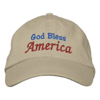 Dios bendice América por SRF Gorra De Beisbol
