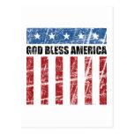 Dios bendice América Postal