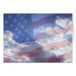Dios bendice América Tarjetas