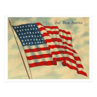 Dios bendice América Tarjetas Postales