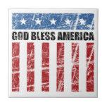 Dios bendice América Teja