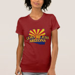 Dios bendice Arizona Camiseta