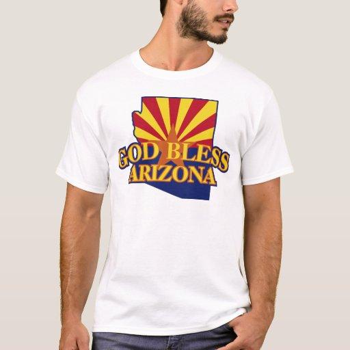 Dios bendice Arizona Playera