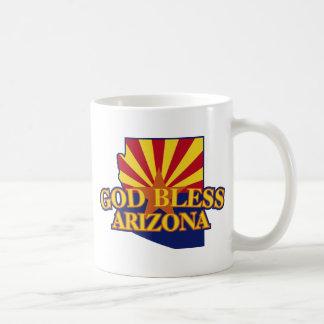Dios bendice Arizona Taza