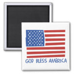 Dios bendice el imán de América