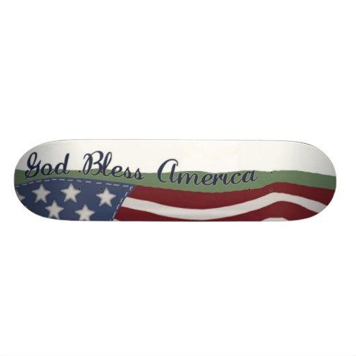 Dios bendice el monopatín de América
