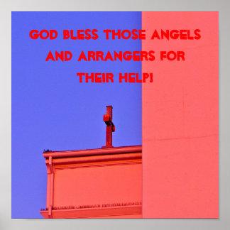 Dios bendice esos ángeles poster