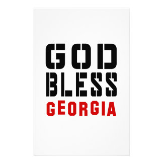 Dios bendice Georgia Papeleria De Diseño