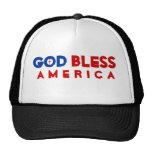 """""""Dios bendice gorra de América"""""""