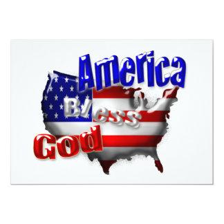 Dios bendice la invitación de América