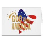 Dios bendice la tarjeta de América