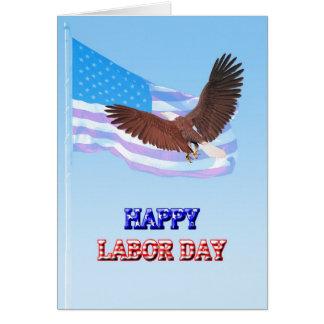 Dios bendice la tarjeta del Día del Trabajo de