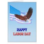 Dios bendice la tarjeta del Día del Trabajo de Amé