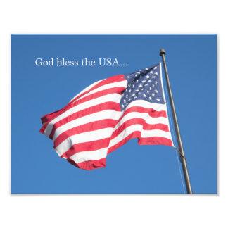 Dios bendice los E.E.U.U.… Fotografía