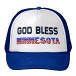 Dios bendice Minnesota Gorros