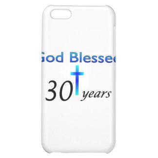Dios bendijo 30 años de regalo de cumpleaños crist