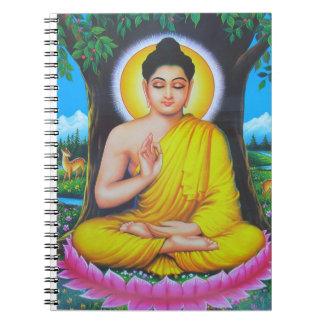 Dios Buda Libretas Espirales