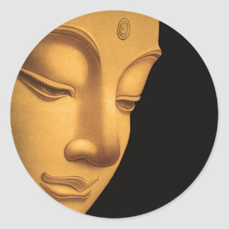 Dios Buda Pegatina Redonda