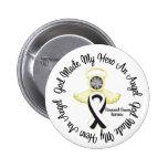 Dios carcinoide del cáncer hizo mi héroe un ángel pin
