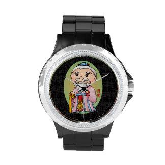 Dios chino lindo del amor reloj