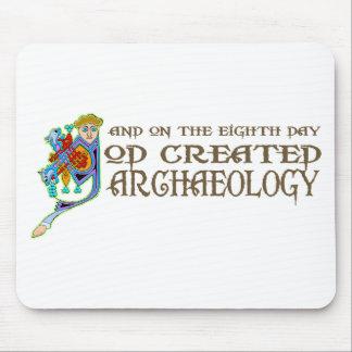 Dios creó arqueología mouse pads