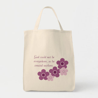 Dios creó el bolso de la flor de las madres, bolsas de mano