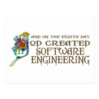 Dios creó la ingeniería de programas informáticos postal