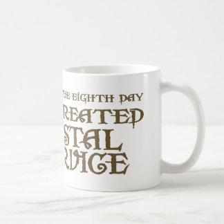Dios creó servicio postal tazas de café