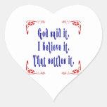 Dios de cuatro flores dijo colcomanias corazon personalizadas