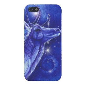 Dios de cuernos - ciervo de sueños iPhone 5 protector