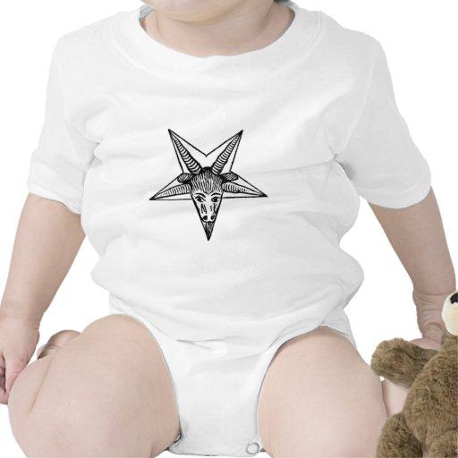 Dios de cuernos trajes de bebé