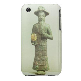Dios de Elamite con la mano de oro de Susa Southw iPhone 3 Cárcasas