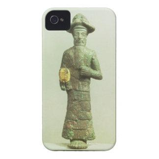Dios de Elamite con la mano de oro de Susa Southw iPhone 4 Case-Mate Protectores