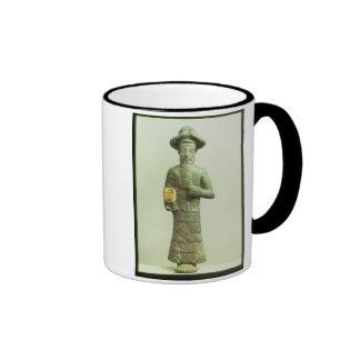 Dios de Elamite con la mano de oro de Susa, Southw Taza De Café