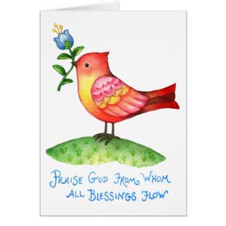 Dios de la alabanza de quien todas las bendiciones
