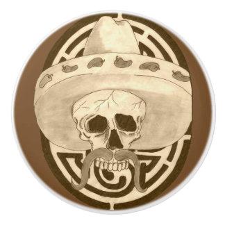 Dios de los Muertos, Dude !!! Ceramic Knob