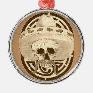 Dios de los Muertos, Dude !!! Metal Ornament
