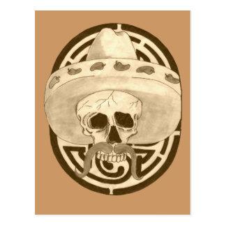 Dios de los Muertos,  Dude !!! Postcard