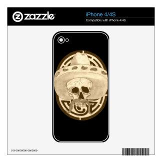 Dios de los Muertos, Dude !!! Skin For The iPhone 4S