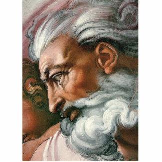 Dios de Miguel Ángel en la creación de Adán Esculturas Fotograficas