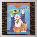 Dios de risa de la guitarra posters