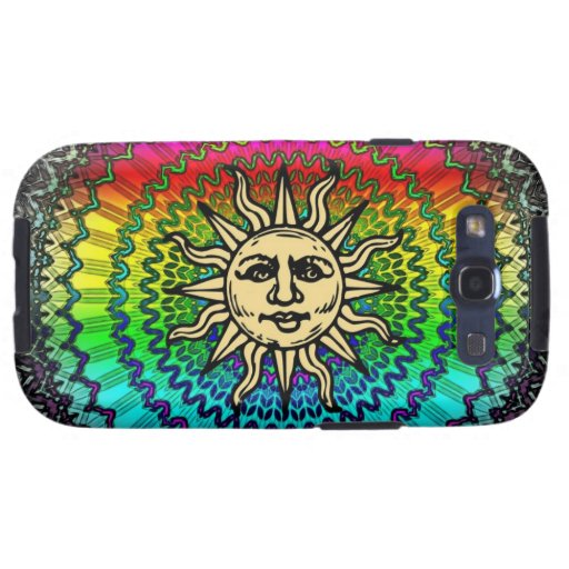 Dios de The Sun en colores de The Sun Samsung Galaxy S3 Coberturas