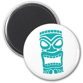 Dios de Tiki Imán Redondo 5 Cm