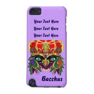 Dios del Bacchus del carnaval del vino y de la Funda Para iPod Touch 5G