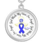 Dios del cáncer de colon hizo mi héroe un ángel grimpolas personalizadas