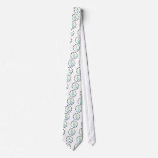 Dios del cáncer de cuello del útero hizo mi héroe corbata personalizada