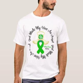 Dios del cáncer del riñón hizo mi héroe un ángel playera